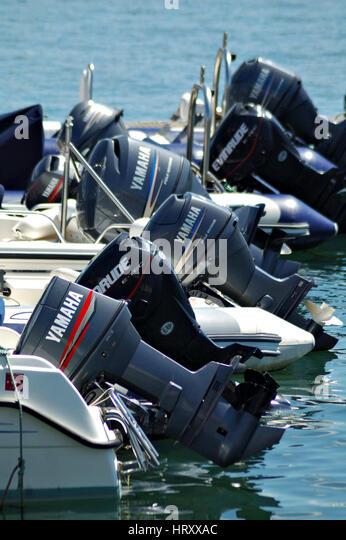Yamaha Powerboat Engine