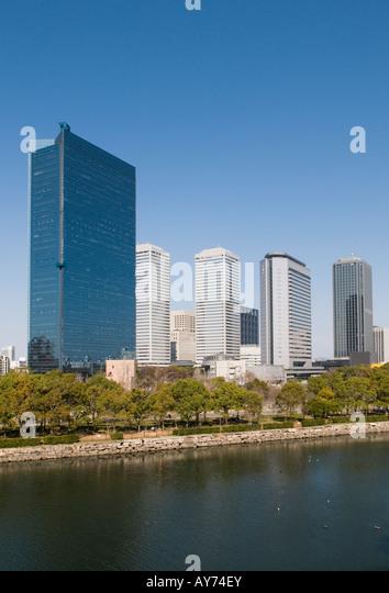 Osaka Business Park Japan - Stock Image