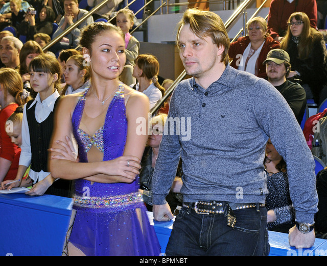 Lyaisan Utyasheva opens school of rhythmic gymnastics - Stock Image
