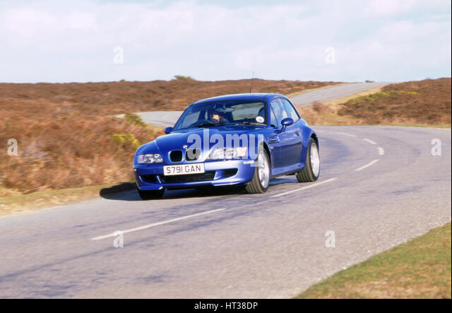 1998 BMW Z3 M coupe. Artist: Unknown. - Stock Image