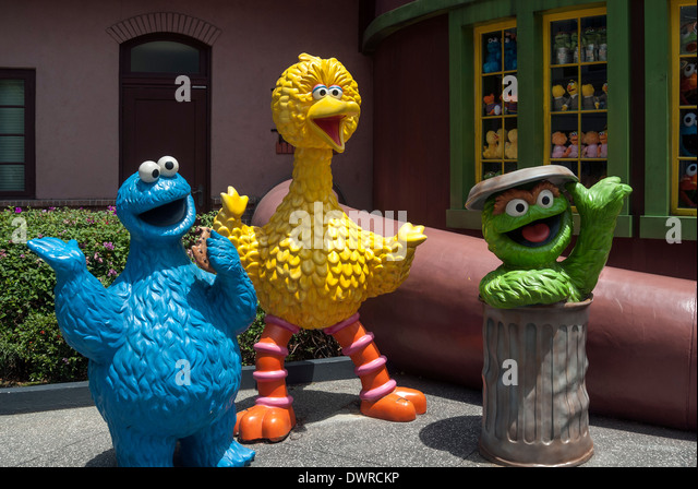 Sesame Street Characters Stock Photos & Sesame Street ...