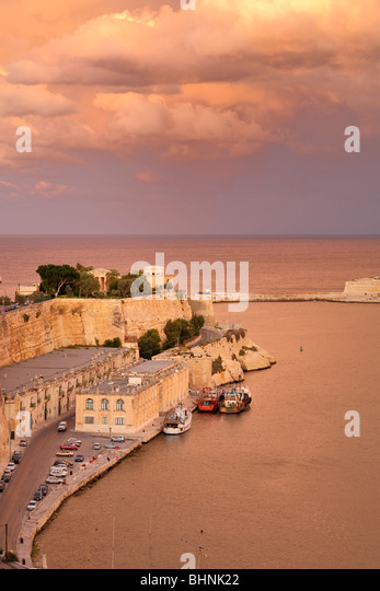 Fort St. Elmo, Valletta - Stock-Bilder