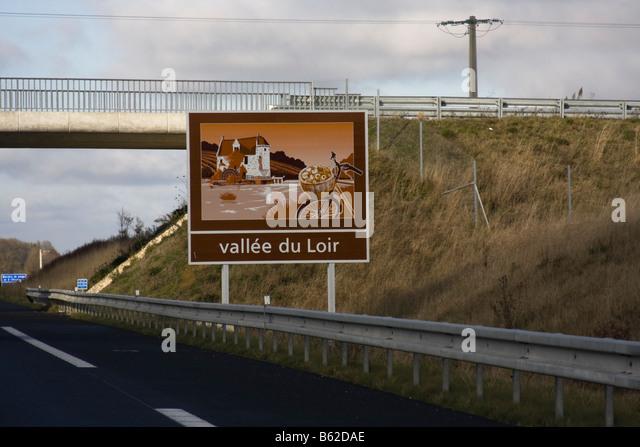 motorway sign france stock photos motorway sign france. Black Bedroom Furniture Sets. Home Design Ideas
