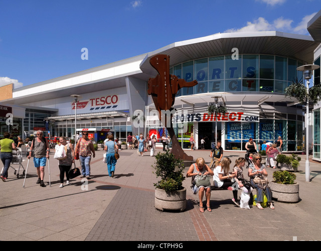 Rushes Shopping Centre Car Park