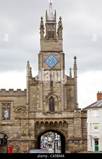 Eastgate Warwick, England - Stock Image