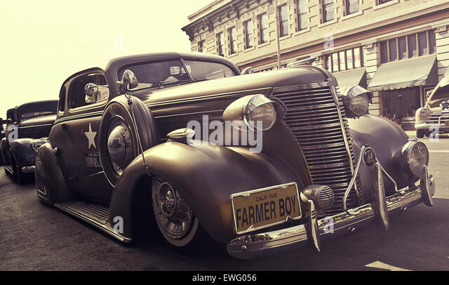 Vintage Automobile - Stock Image