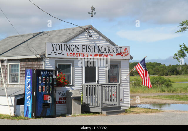 Orleans stock photos orleans stock images alamy for Cape cod fish market