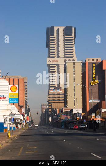 Pretoria city Pretorious Street - Stock Image