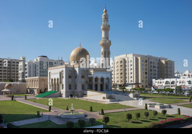 Oman, Muscat, Zawali mosque - Stock Image