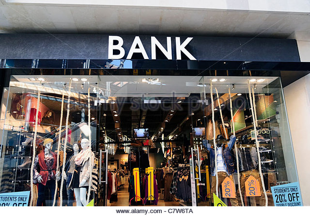 Banks clothing store locator