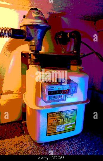 how to read gas meter number