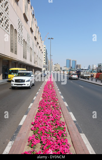 Dubai creek area, Dubai, Deira, United Arab Emirates - Stock Image