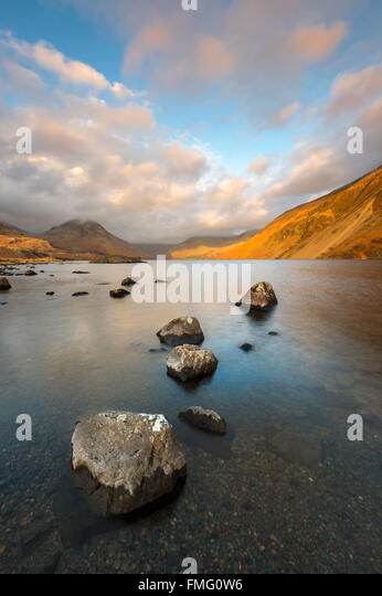 Wastwater, Wasdale, The Lake District, Cumbria UK - Stock Image