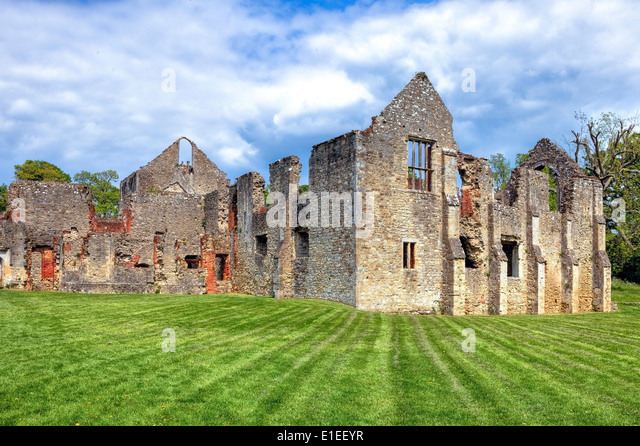 Netley Abbey, Southampton, England, United Kingdom - Stock-Bilder