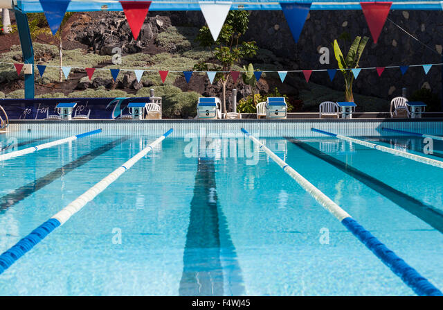 Olympic Swimming Pool Empty Stock Photos Olympic Swimming Pool Empty Stock Images Alamy