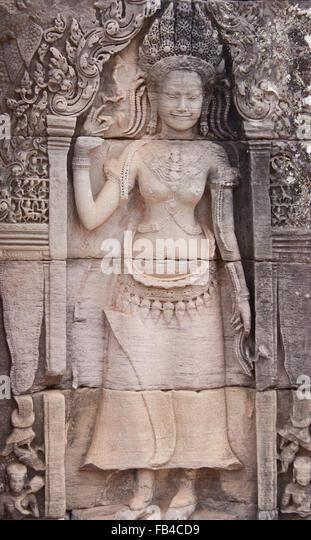 Apsara cambodia stock photos
