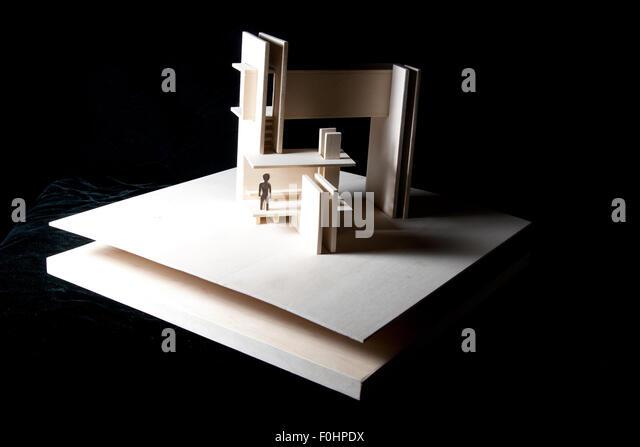 Architecture Model-2 - Stock Image