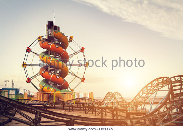 seaside fair - Stock-Bilder