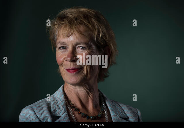 English actress Celia Imrie. - Stock-Bilder