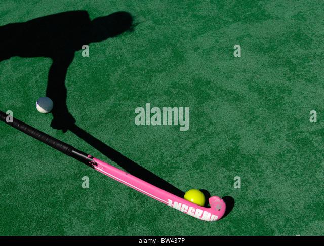 Hockey player - Stock Image