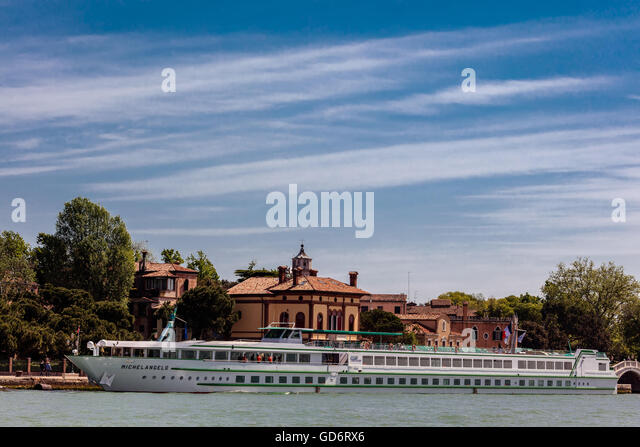 MS Michelangelo cruise ship - Stock Image