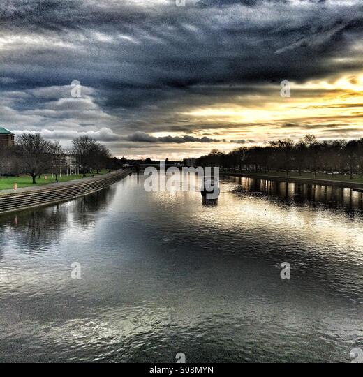 River Trent - Stock Image