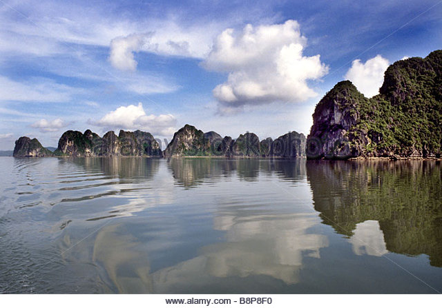 halong bay, vietnam, southeast asia - Stock Image