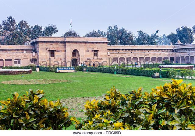Sarnath Archaeology Museum, Sarnarth, India - Stock Image