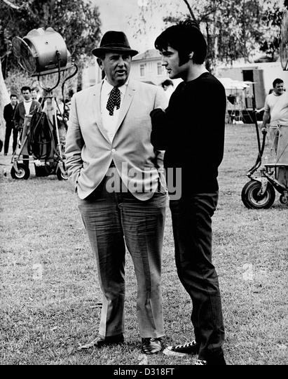 Colonel Tom Parker, Elvis Presley - Stock Image