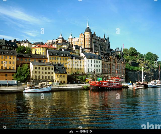 Restaurant ship, Stockholm, Sweden, Scandinavia - Stock Image