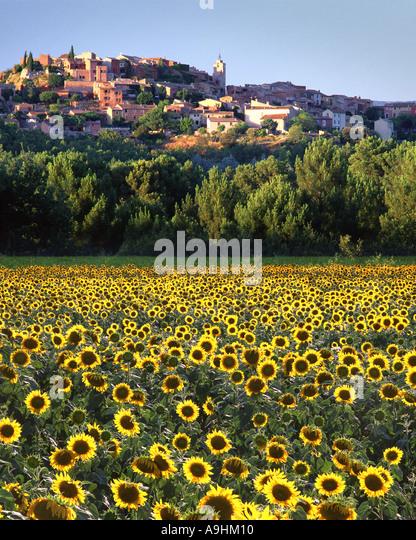 FR - PROVENCE: Roussillon - Stock Image