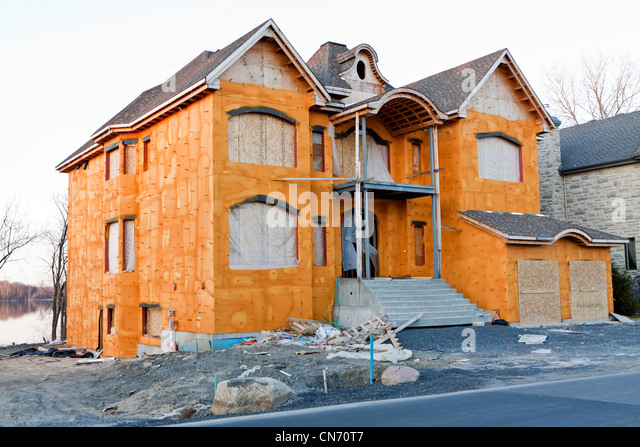 Insulated stock photos insulated stock images alamy for Foam home construction