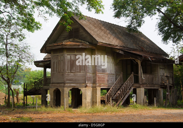 Thailand traditional house stock photos thailand for Thai classic house 2