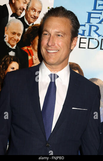 New York, USA. 15th Mar, 2016. Actor JOHN CORBETT attends the World Premiere of 'My Big Fat Greek Wedding 2' - Stock Image