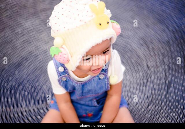 Happy baby - Stock Image