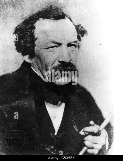 Anton Woelfle, circa 1850 - Stock-Bilder