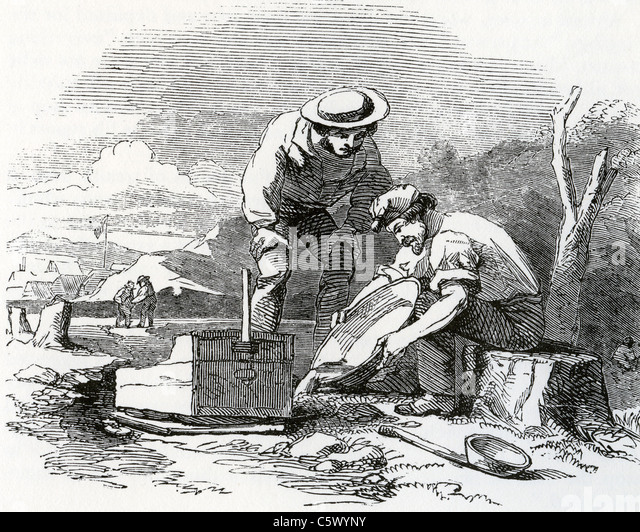1849 california gold rush stock photos amp 1849 california