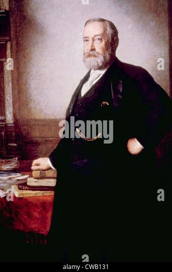 Benjamin Harrison (1833-1901), U.S. President (1889-1893) - Stock Image
