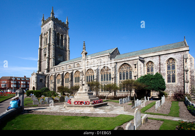 Church of St. Peter and St. Paul at Cromer, Norfolk, England, United Kingdom, Europe - Stock Image