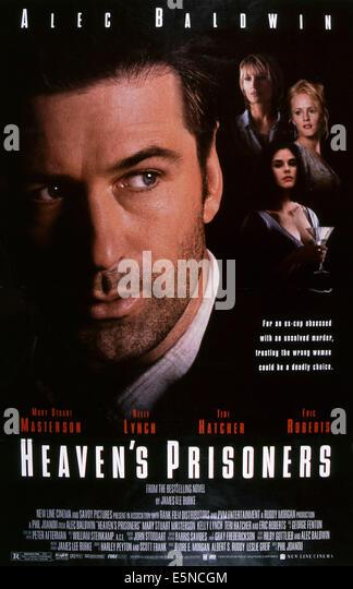 HEAVEN'S PRISONERS, Alec Baldwin, rear from left: Kelly Lynch, Teri Hatcher, Mary Stuart Masterson, 1996, © - Stock Image