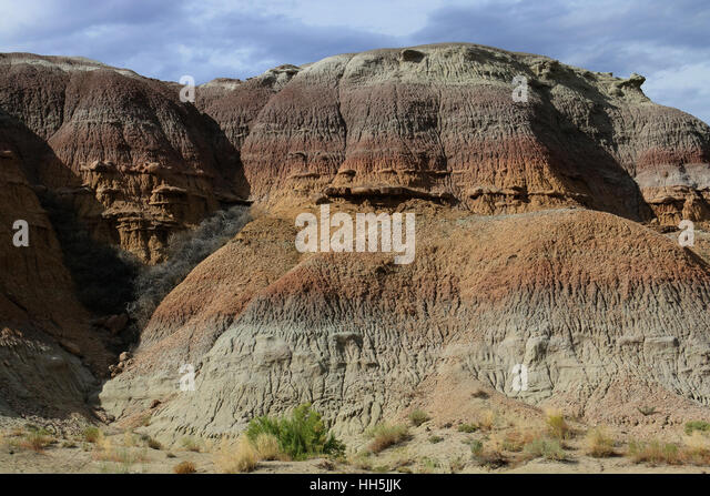 Sandstone erosion Great basin desert Utah - Stock Image