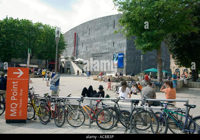 Vienna Museum of Modern Art Foundation Ludwig - Stock Image