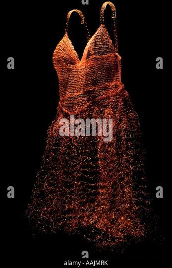 Fine art dress - Stock Image