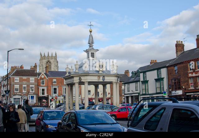 Beverley Market Cross, East Riding of Yorkshire, England, UK - Stock Image