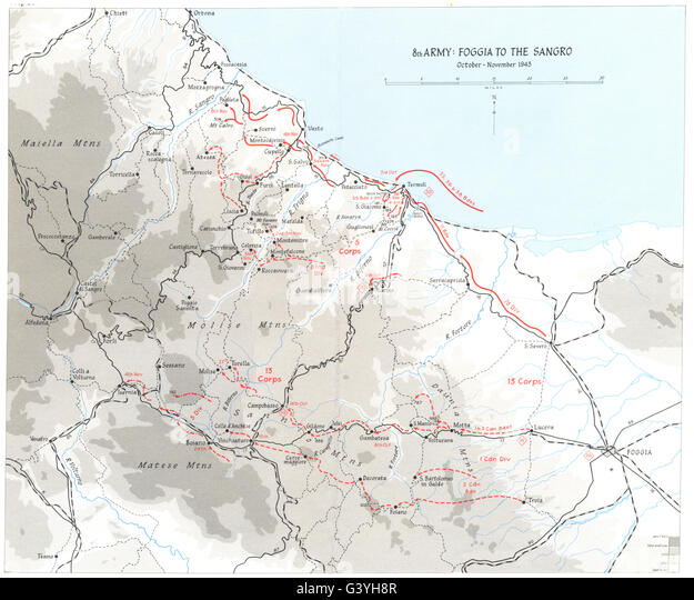 c 126 10 foggia italy map - photo#35