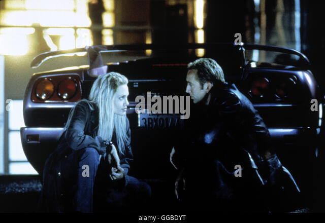 ACK86358.jpg NUR NOCH 60 SEKUNDEN Gone in Sixty Seconds USA 2000 Dominic Sena Sway (ANGELINA JOLIE) and Randall - Stock Image