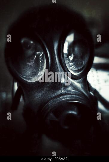 Gas mask - Stock Image