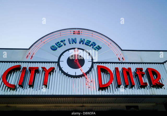 Fifties 50s stock photos fifties 50s stock images alamy for 50 s diner exterior