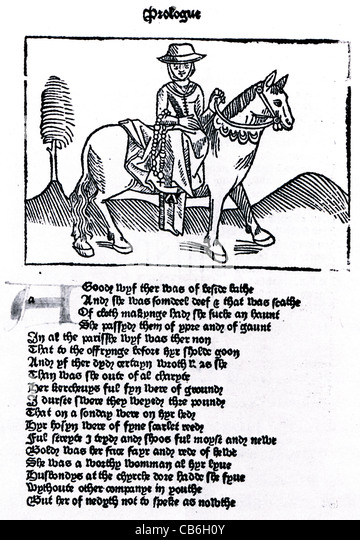 an analysis of the wife of bath in the canterbury tales by geoffrey chaucer The wife of bath`s prologue in chaucer`s canterbury tales - kathrin richter   the friar's interruption 37 the wife of bath's tale 4 discussion 5 summary 6.