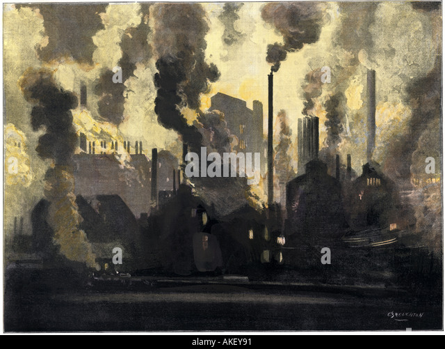 Steel Mill 1900s Stock Photos Amp Steel Mill 1900s Stock
